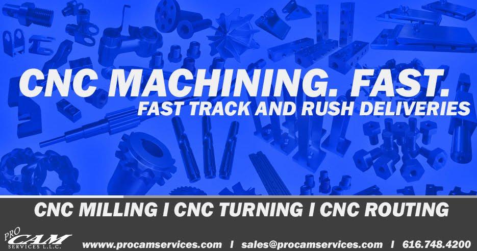 CNC Machining. Fast.
