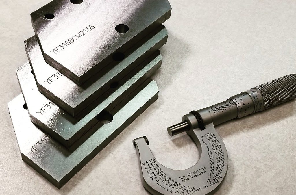Precision Ground Details Manufactured Today at Pro-Cam Services LLC.