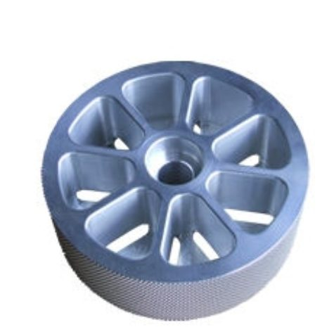 Textured wheel